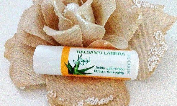 Bioearth – Balsamo labbra all'acido ialuronico | recensione