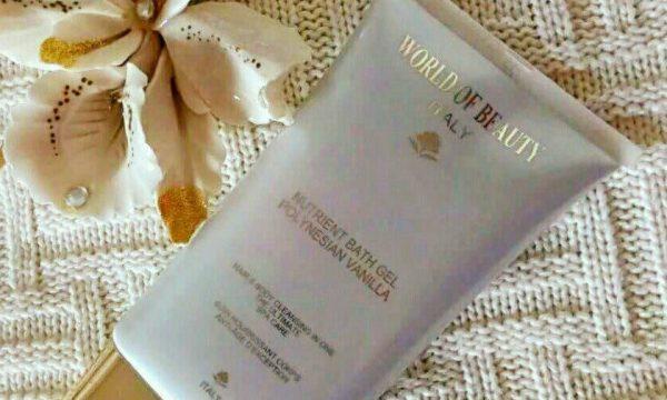 World of beauty – Bath Gel Polynesian Vanilla recensione