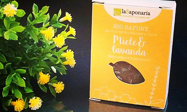 La Saponaria – Sapone miele e lavanda [recensione]